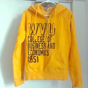 Gold WVU Sweatshirt Women's Small